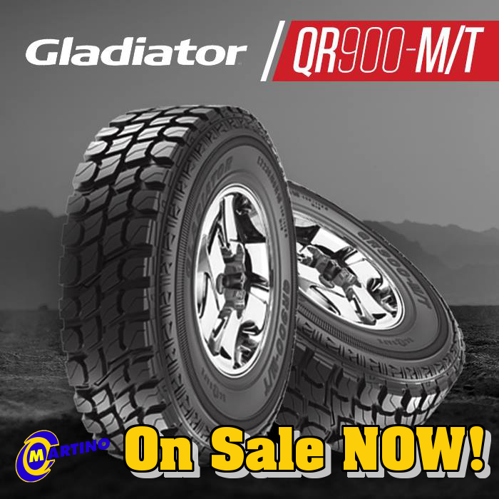 Gladiator QR900-M/T On Sale Now. Click Here for Details!