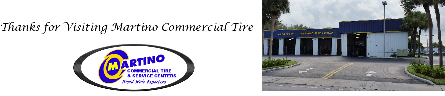 Thanks for Visiting Martino Commercial Tire