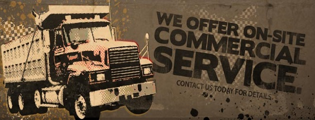 We offer Commercial Service